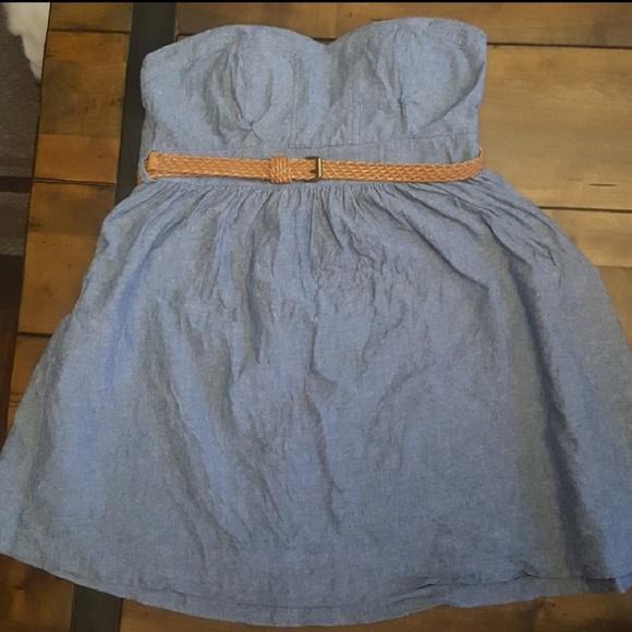 Poetry Dresses & Skirts - Adorable Denim Baby Doll Dress